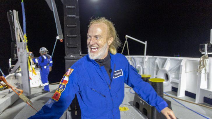 Victor Vescovo Makes Record Setting Dive