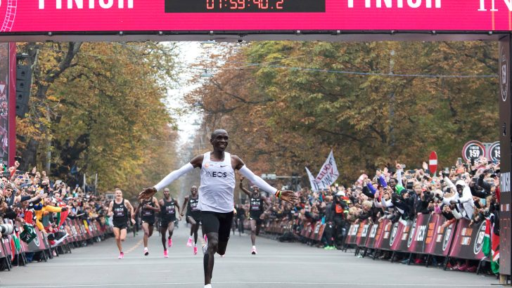 First Man to Run a Marathon in Under Two Hours