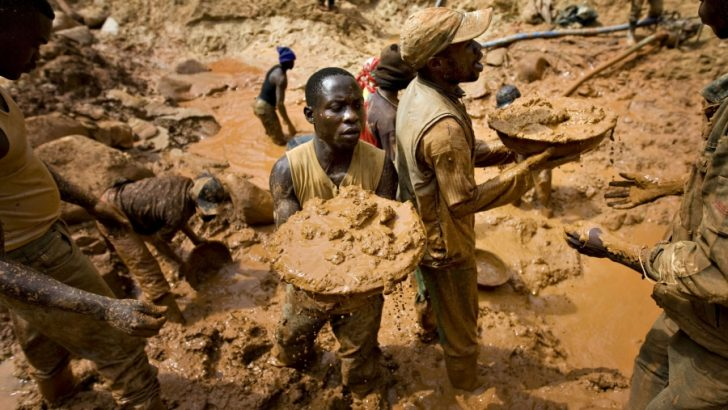 Congo Gold Mine Collapse