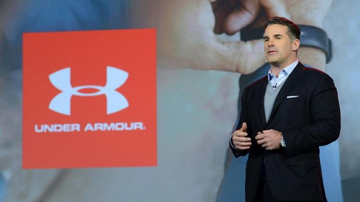 Kevin Plank steps down from Baltimore based company Under Armour