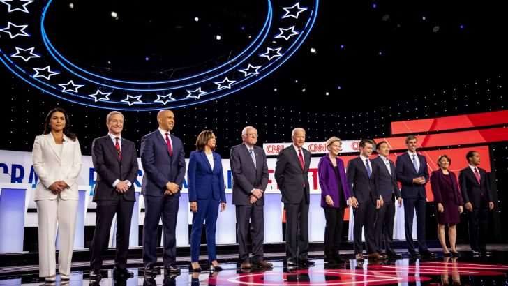 Overview of the 12 Democratic Debate Candidates