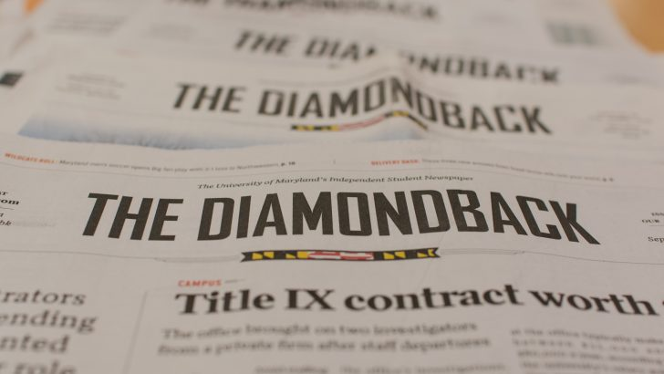 U. Maryland to End Print Publication of Student Newspaper