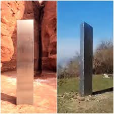 Mysterious Monolith appears in Romania