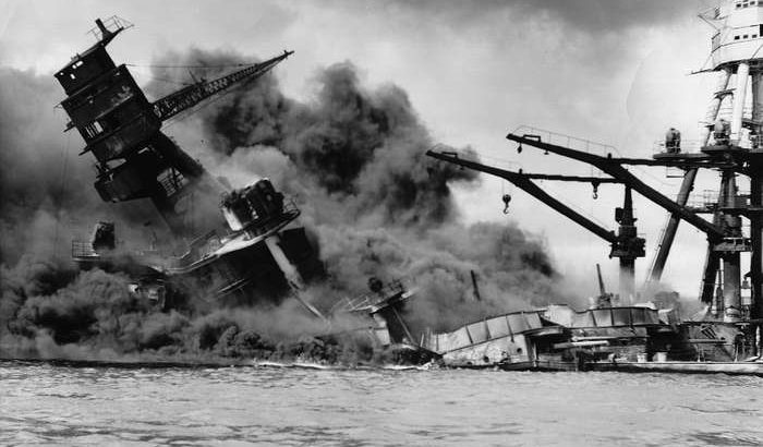 Pearl Harbor Attack is Reported by Radio