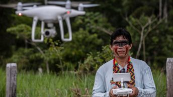 Amazon Tribes are Using Drones to Combat Illegal Deforestation